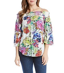Karen Kane® Off Shoulder Blouse