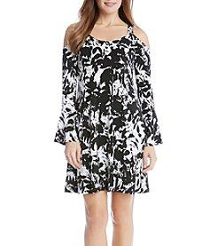 Karen Kane® Cold Shoulder Dress