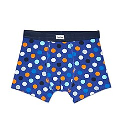 Happy Socks® Men's Big Dot Boxer Briefs