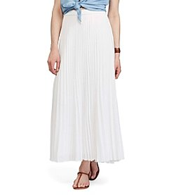 Chaps® Pleated Straight Skirt