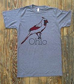 Megan Lee Designs Ohio Cardinal Tee