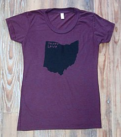 Megan Lee Designs® Love Toledo Ohio Tee