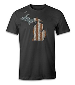 The Michigan Outfitter Michigan Old Glory Tee