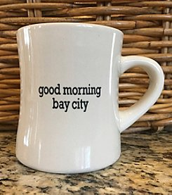 Detroit Scroll Good Morning Bay City Mug