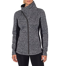 Betsey Johnson® Performance Asymmetrical Zip Jacket