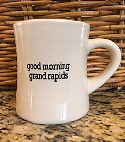 Detroit Scroll Good Morning Grand Rapids Mug