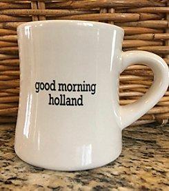 Detroit Scroll Good Morning Holland Mug