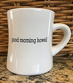 Detroit Scroll Good Morning Howell Mug