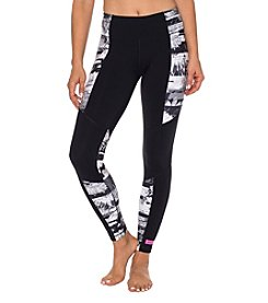 Betsey Johnson® Performance Print Blocked Ankle Leggings
