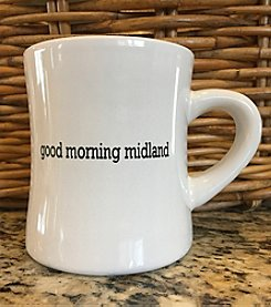 Detroit Scroll Good Morning Midland Mug