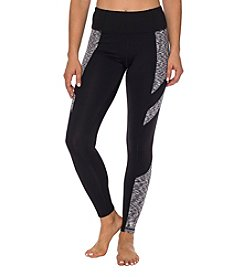 Betsey Johnson Performance® Spacedye Brushback Leggings