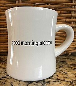 Detroit Scroll Good Morning Monroe Mug