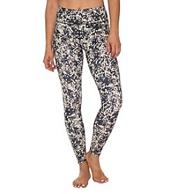 Betsey Johnson Performance® Sequin Printed Ankle Leggings