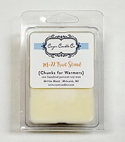Coyer Candle Co. Fruit Stand Wax Chunk for Warmers