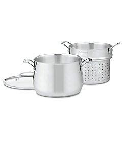 Cuisinart® Contour Stainless 6-Qt. Pasta & Steamer Set