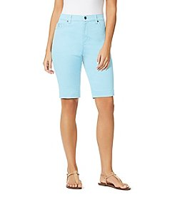Gloria Vanderbilt® Avery Pull On Bermuda Shorts