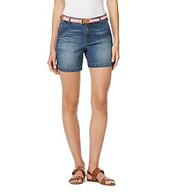 Gloria Vanderbilt® Featherweight Stretch Twill Denim Shorts