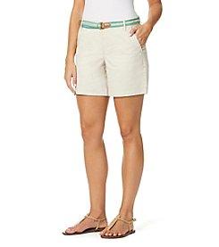 Gloria Vanderbilt® Featherweight Stretch Twill Shorts