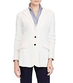 Lauren Ralph Lauren® Three-Button Sweater Jacket