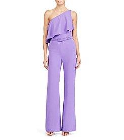 Lauren Ralph Lauren® Crepe One-Shoulder Jumpsuit