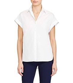 Lauren Ralph Lauren® Rolled-Cuff Shirt