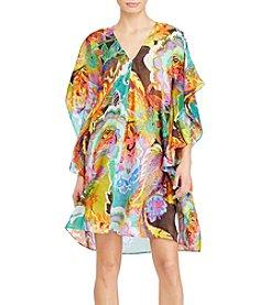 Lauren Ralph Lauren® Floral Flutter-Sleeve Dress