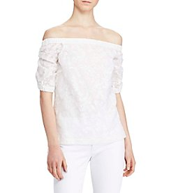 Lauren Ralph Lauren® Jacquard Off-The-Shoulder Top