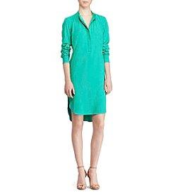Lauren Ralph Lauren® Crepe De Chine Shirtdress