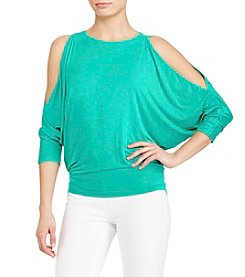 Lauren Ralph Lauren® Cold Shoulder Top