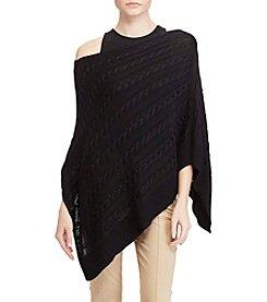 Lauren Ralph Lauren® Cable-Knit Poncho