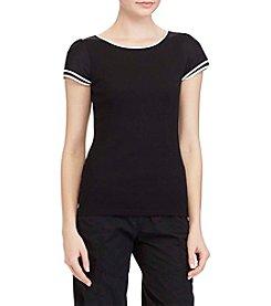 Lauren Ralph Lauren® Flutter Sleeve Top
