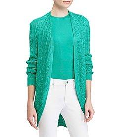 Lauren Ralph Lauren® Open Front Cardigan