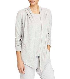 Lauren Ralph Lauren® French Terry Open-Front Jacket