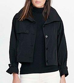 Lauren Ralph Lauren® Taffeta Funnelneck Jacket