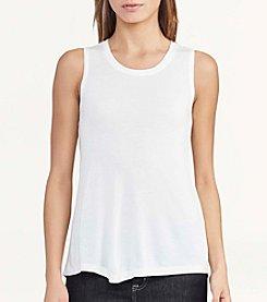 Lauren Ralph Lauren® Jersey Scoopneck Tank Top