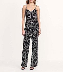 Lauren Ralph Lauren® Geo-Print Crepe Jumpsuit