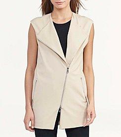Lauren Ralph Lauren® Stretch-Twill Moto Vest