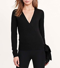 Lauren Ralph Lauren® Silk-Blend Wrap Sweater