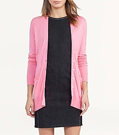 Lauren Ralph Lauren® Cotton-Blend Cardigan