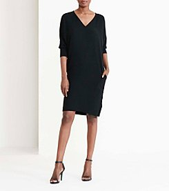 Lauren Ralph Lauren® Crepe Shift Dress