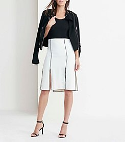 Lauren Ralph Lauren® Pleated Crepe Skirt