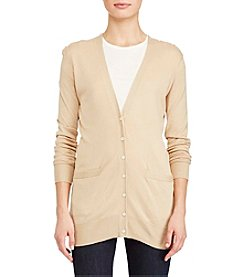 Lauren Ralph Lauren® Cotton-Blend Cardigan