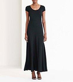 Lauren Ralph Lauren® Jersey Scoopneck Maxidress