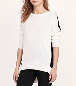 Lauren Ralph Lauren® Color-Blocked Sweater
