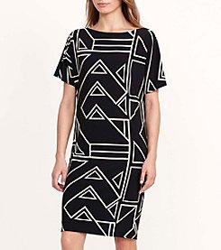 Lauren Ralph Lauren® Geometric-Print Jersey Dress
