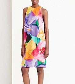 Lauren Ralph Lauren® Floral-Print Crepe Dress