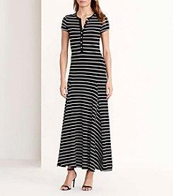 Lauren Ralph Lauren® Jersey Henley Maxidress