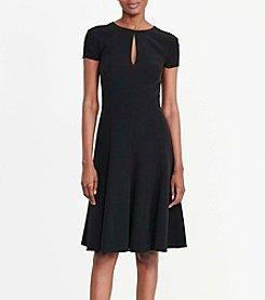 Lauren Ralph Lauren® Crepe A-Line Dress
