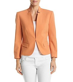 Nine West® Nectarine Crepe Jacket