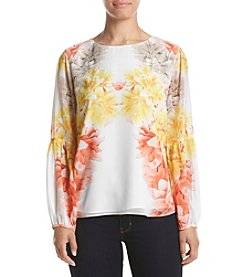 Calvin Klein Floral Printed Blouse